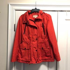 Michael Kors hooded water resistant jacket M